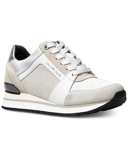 82106b7becbc Michael Michael Kors Women s Billie Trainer Fashion Sneakers (6 B (M) US