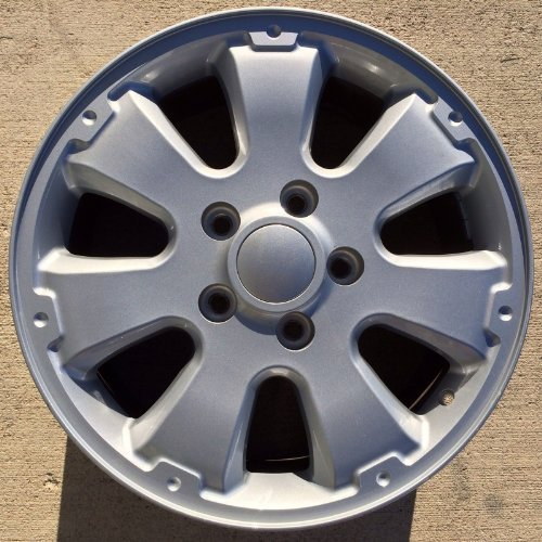 Painted Silver Alloy Wheel - 6