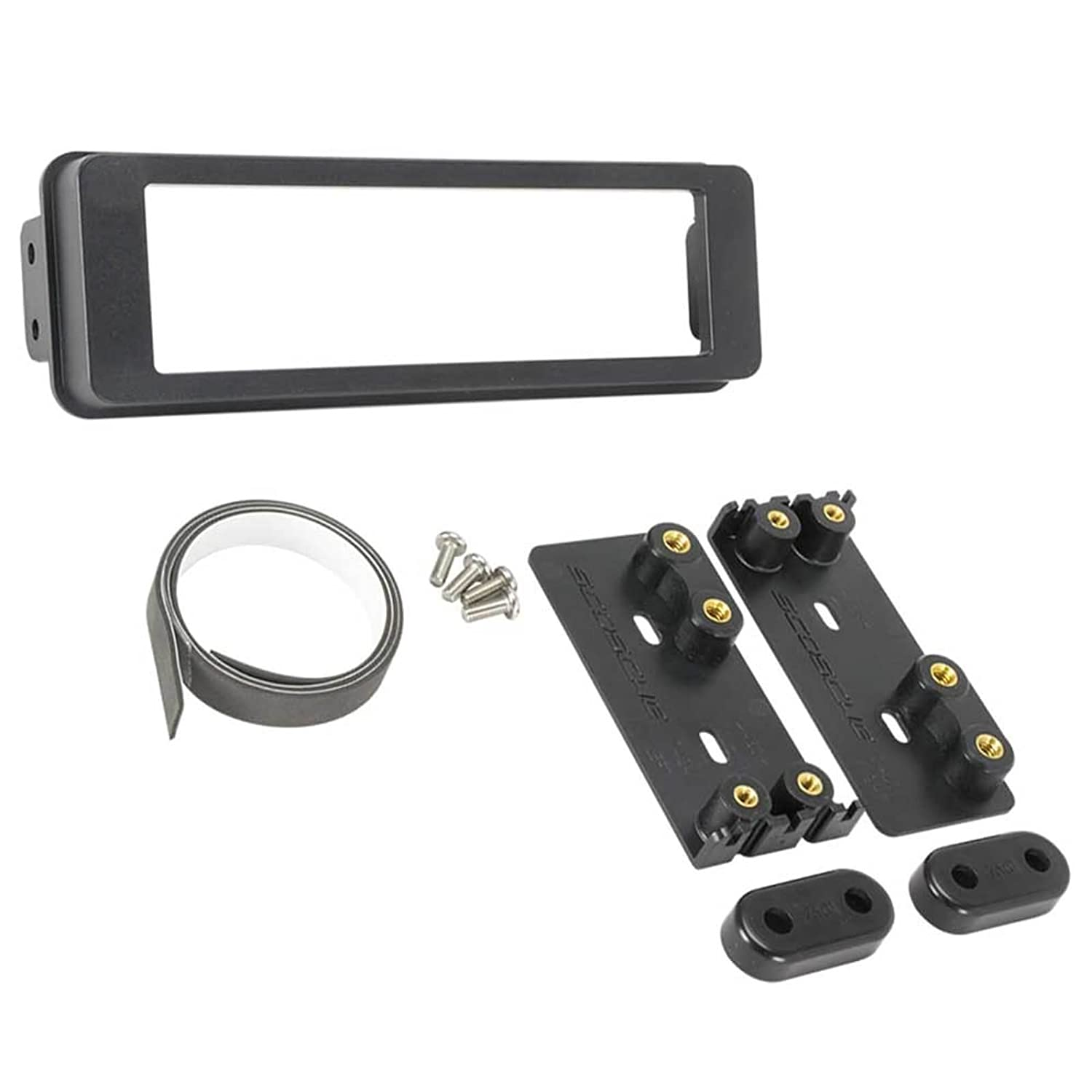 Amazon.com: Scosche HD7000B 1996-Up Harley Davidson Stereo Dash Kit  W/HDSWC1 Steering Wheel Control & Enrock Radio Antenna: Cell Phones &  Accessories