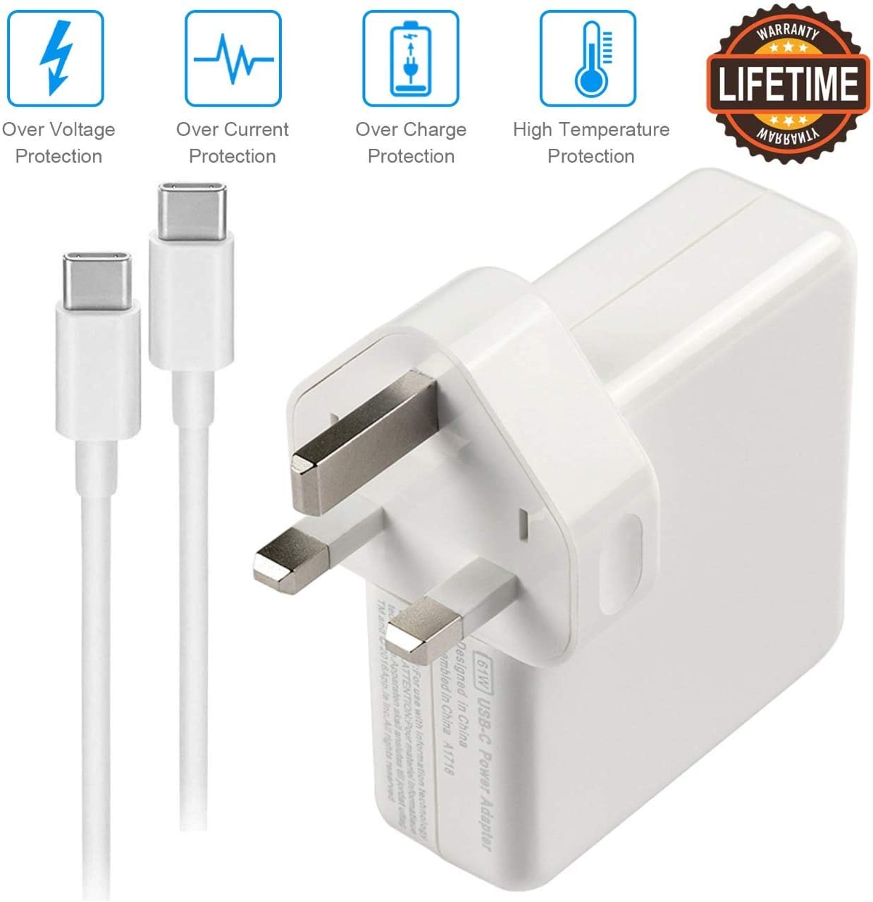 87W USB C Charger Compatible with Macbook Pro: Amazon.co