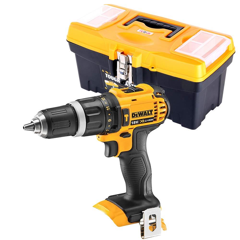 Dewalt DCD785 18V XR 2-Speed Combi Drill with 16 inch/41cm Tool Storage Box