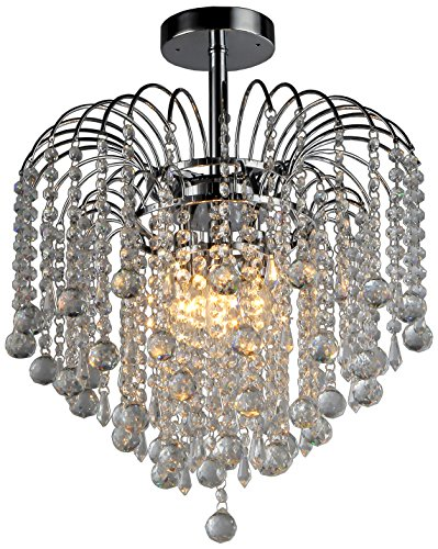 Candace Crystal Chandelier For Sale