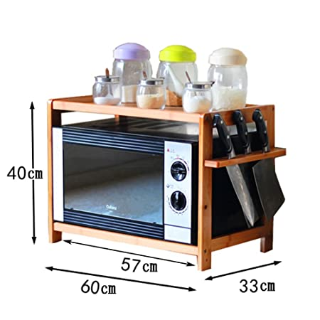 WENZHE Cocina Estante Horno microondas Estufa Electrodomésticos ...