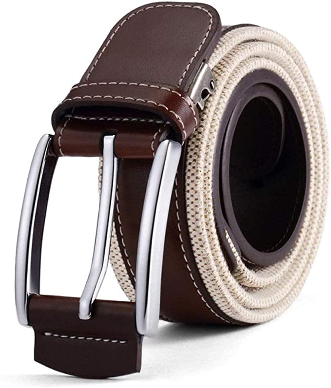 MenS Leather Belt Business Casual Wear Zinc Comfortable