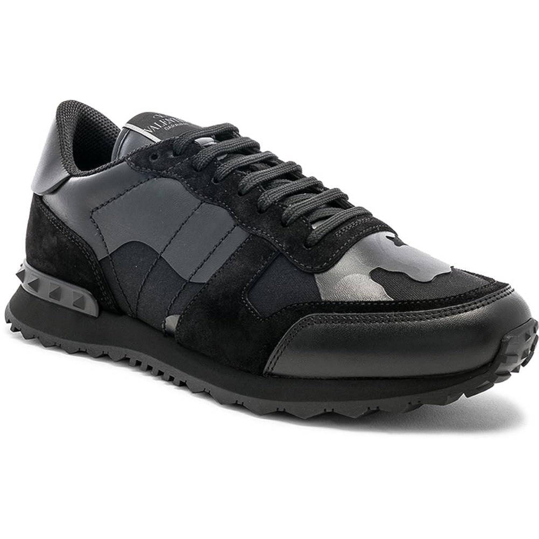 (ヴァレンティノ) Valentino メンズ シューズ靴 スニーカー Canvas Sneakers [並行輸入品] B07F77R1GK