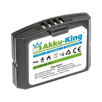 Akku-King batería para Sennheiser BA 300/500898 / HC-BA300 / NCI-PLS100H: Amazon.es: Electrónica