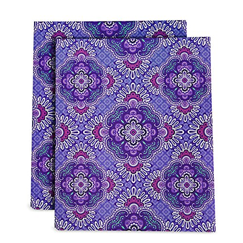 Vera Bradley Pocket Folders in Lilac (Lilac File Folders)