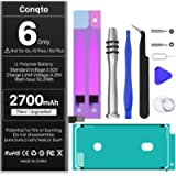 [2700mAh] Battery for iPhone 6 (2021 New Version), Conqto New Upgraded High Capacity 0 Cycle Replacement Battery for…