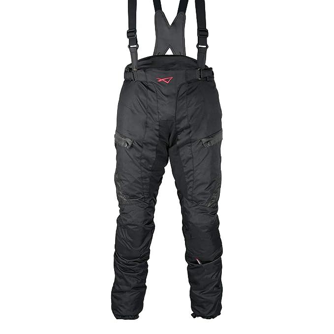 Lkn da uomo moto motocicletta protezione pantaloni impermeabile antivento pantaloni per tutte le stagioni con protezioni