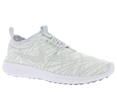 promo code c7aab b98e2 Nike Damen WMNS Juvenate Print Turnschuhe Blanco (White Pure Platinum-Cool  Grey)