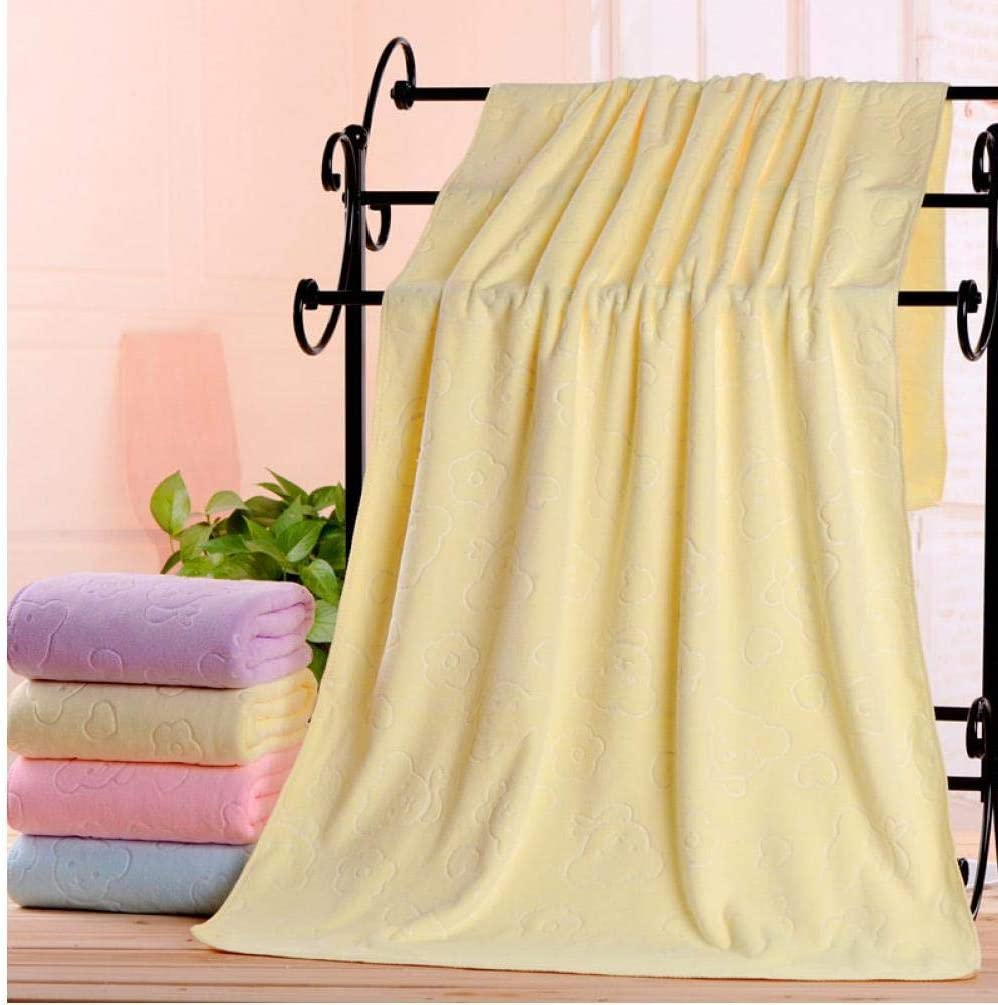 Snner Microfibra Assorbente Tovagliolo di Bagno Doccia Morbido Asciugamano Morbido Asciugatura Rapida Washcloth Colore Casuale