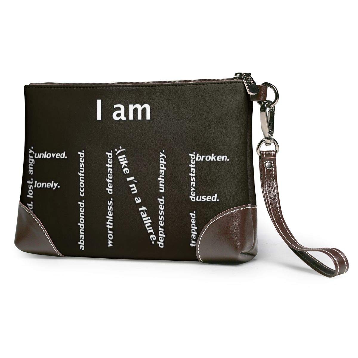 I_am_fine Women's Leather...