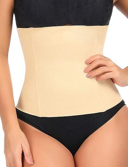 e7853d48c1 Lover-Beauty Waist Training Cincher Corset Weight Loss Girdle Postpartum  Recovery Shapewear Beige S