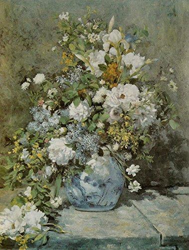 Spring Bouquet - Pierre-Auguste Renoir. Art Print Poster (16