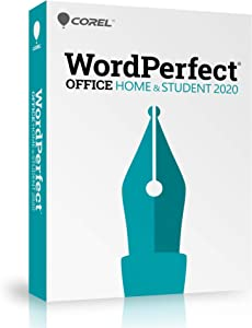 Corel WordPerfect Office 2020 Home & Student | Word Processor, Spreadsheets, Presentations | Newsletters, Labels, Envelopes, Reports, eBooks [PC Disc]