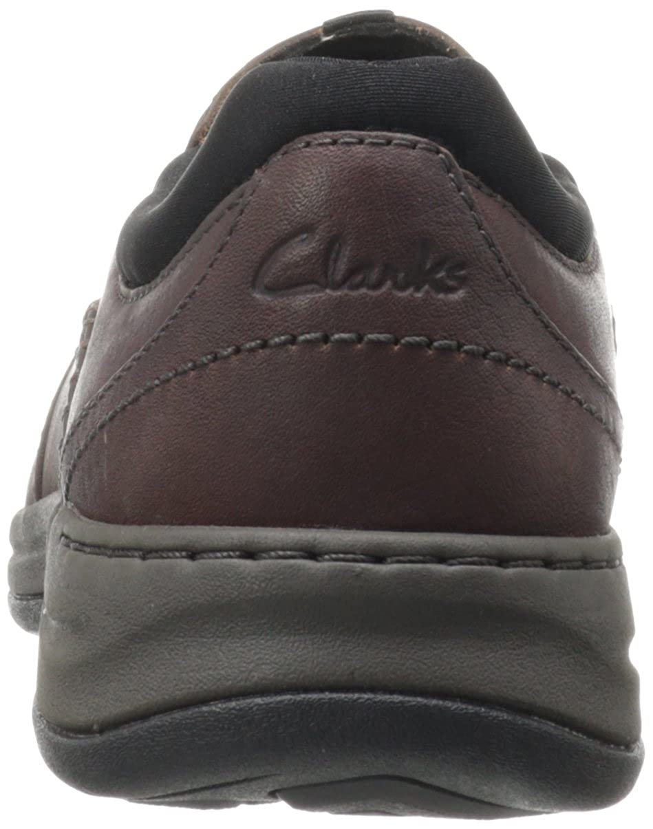 Amazon.com | CLARKS Men's Portland 2 Easy, Brown Leather, 8 D-Medium |  Loafers & Slip-Ons