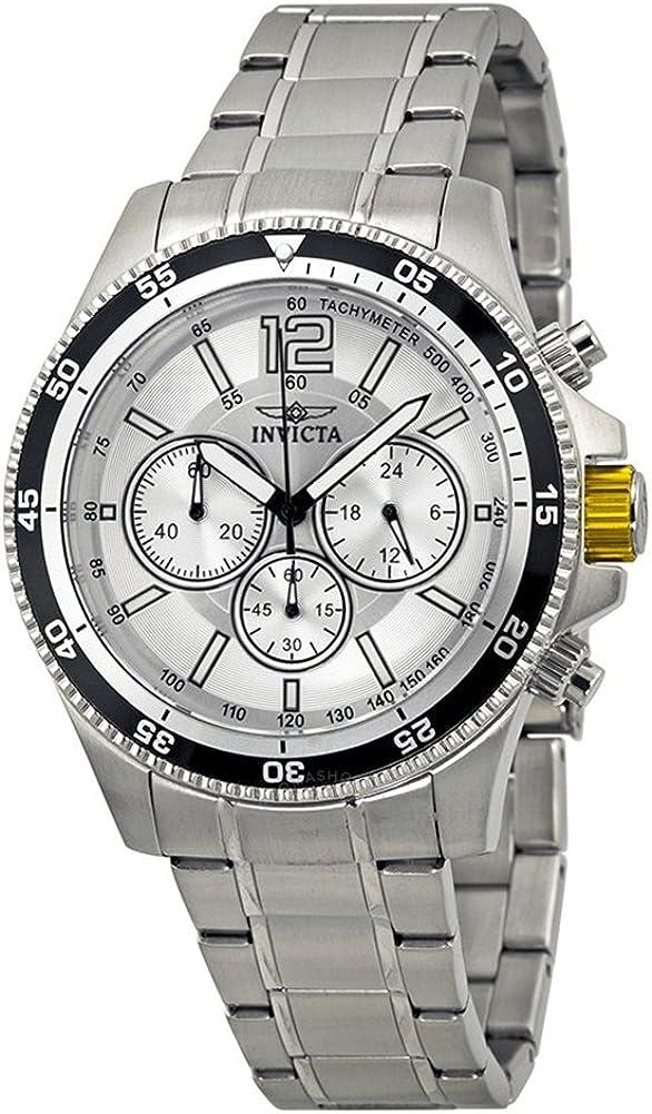 [インビクタ] Invicta 腕時計 Specialty Chronograph Silver Dial Stainless Steel Men's Watch メンズ 13975 [並行輸入品]