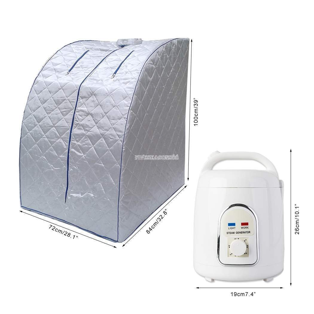 Gizmo Supply Co Portable Therapeutic Steam Sauna Spa by Gizmo Supply Co (Image #2)