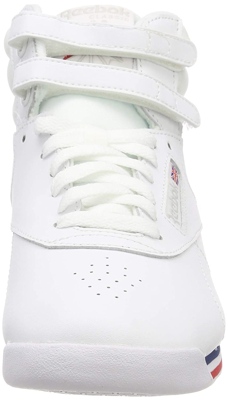 d852bd55f9b4 Reebok Women s Freestyle Hi-Top Trainers  Amazon.co.uk  Shoes   Bags