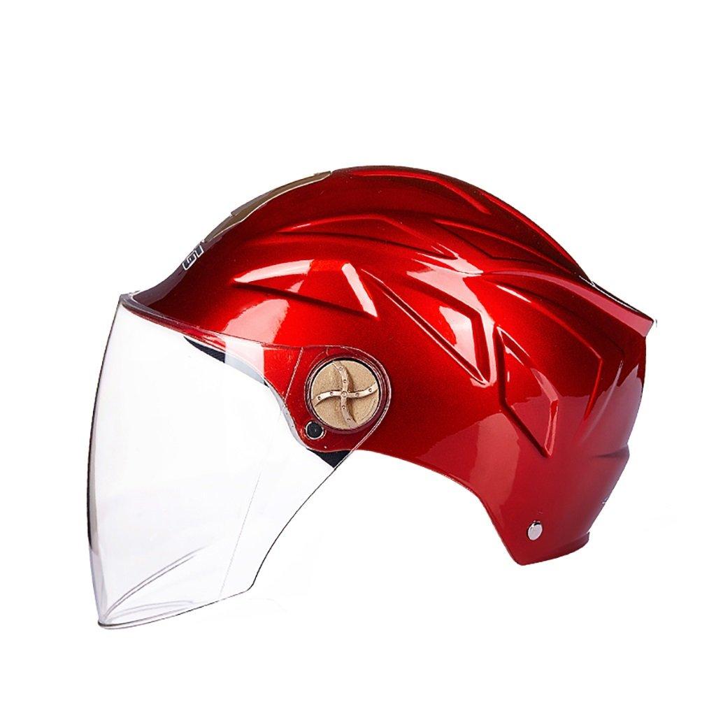 【送料関税無料】 ヘルメット 赤 ヘルメット/UV保護オートバイのヘルメット夏の日の保護ヘルメット色のオプションのヘルメットのパーソナリティファッションの様々な (色 グレー) : 赤 グレー) B07D8TL44F 赤 赤, サカイミナトシ:bdef64b3 --- a0267596.xsph.ru