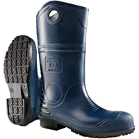 Dunlop 8908603 DURAPRO Boots with Safety Steel Toe, 100% Waterproof Polyblend PVC Material, Comfortable DURAPRO Energizing Insoles, Lightweight and Durable Protective Footwear, Size 3