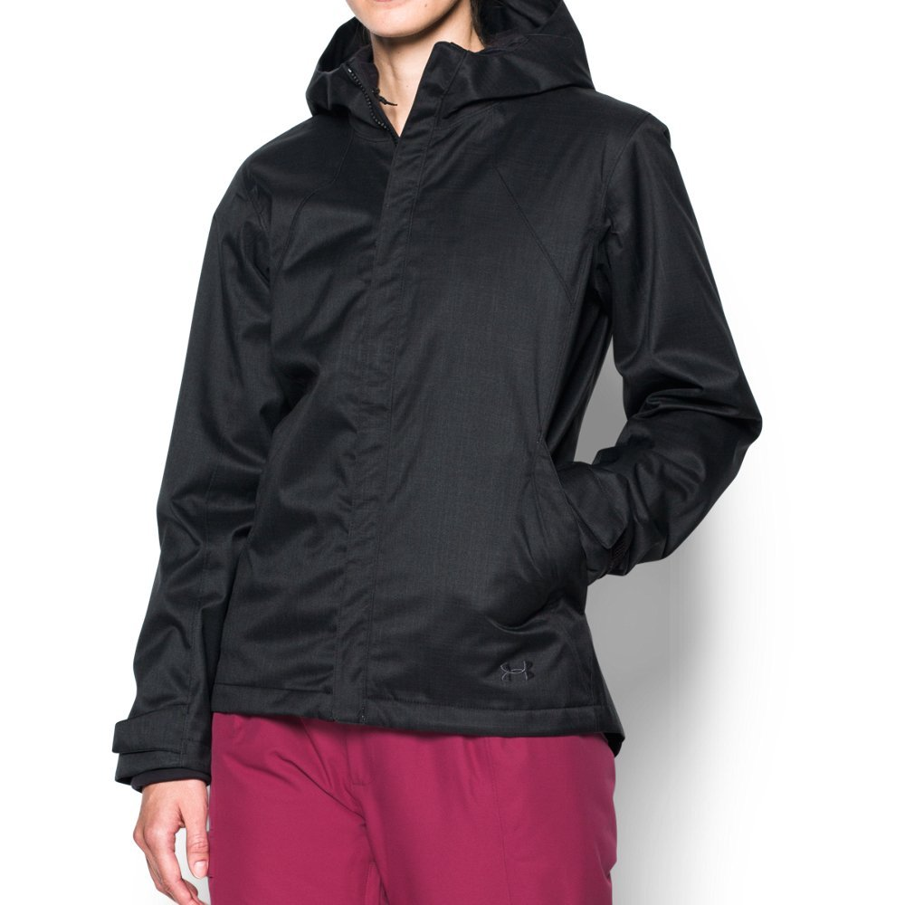 Under Armour Women's Sienna 3-in-1 Jacket, Black/Black, X-Large by Under Armour