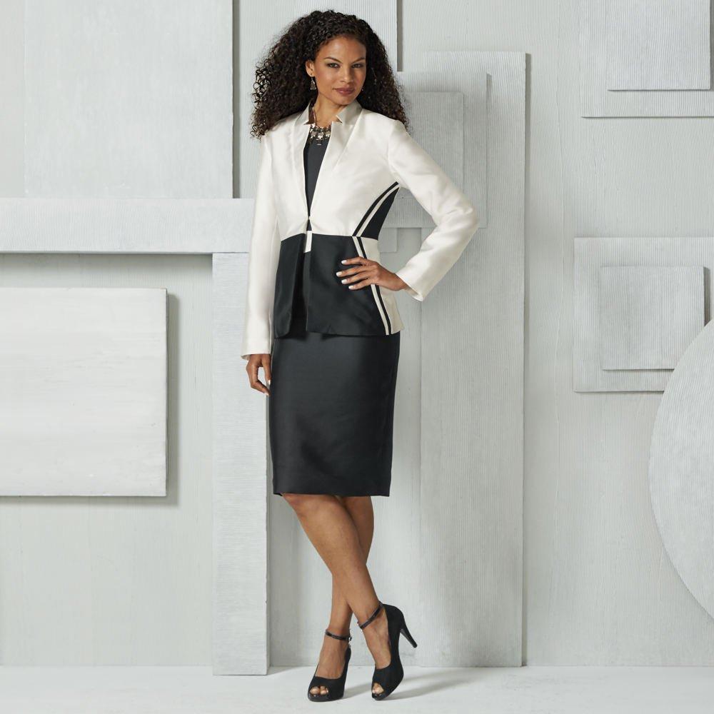 Masseys Colorblock Suit Set