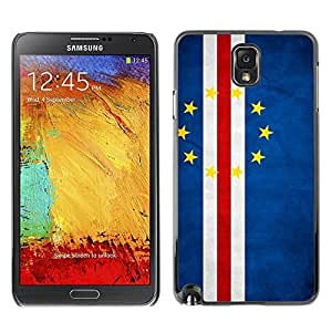 Shell-Star ( National Flag Series-Cape Verde ) Snap On Hard Protective Case For Samsung Galaxy Note 3 III / N9000 / N9005