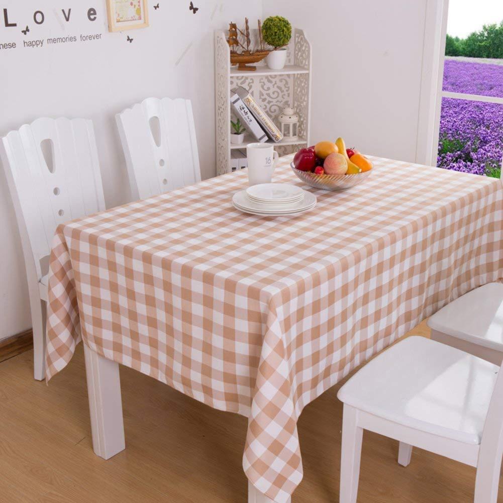 Shuangdeng 格子テーブルクロスホテルのテーブルクロスのスタイルテーブルクロス (Color : B, サイズ : 90x90cm(35x35inch))   B07S78T5L4