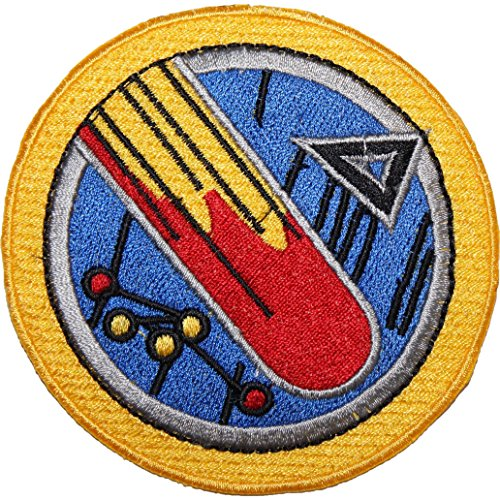 Babylon 5 Starfury Delta Wing EMBROIDERED PATCH Badge Iron-on, Sew On 3.5""