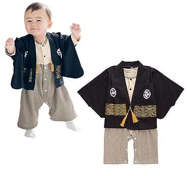 763a9a1cf Amazon.com  FANCYKIDS Baby Infant Toddler Boys Japanese Kimono ...