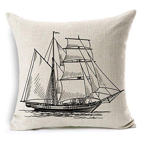 Decorbox Cotton Pillow Antique Cushion