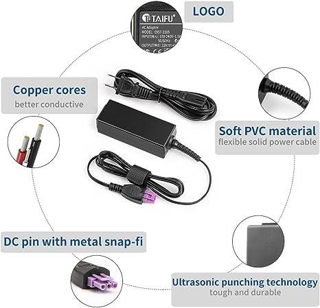 TAIFU 22V AC Printer Adapter Power Supply for HP Deskjet 1010 1012 1510 1518 0957-2385, Also for 0957-2403 HP Deskjet 1512 2515 2548 2540 2542 2544 OJ ...