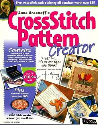 Jane Greenoff's Cross Stitch Pattern Creator