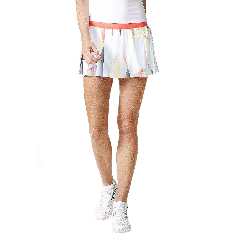 adidas Pro Skort Falda pantalón, Mujer, Blanco (Blanco/Rojdes), S ...