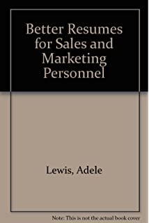 wow resumes for sales and marketing careers chuck cochran donna