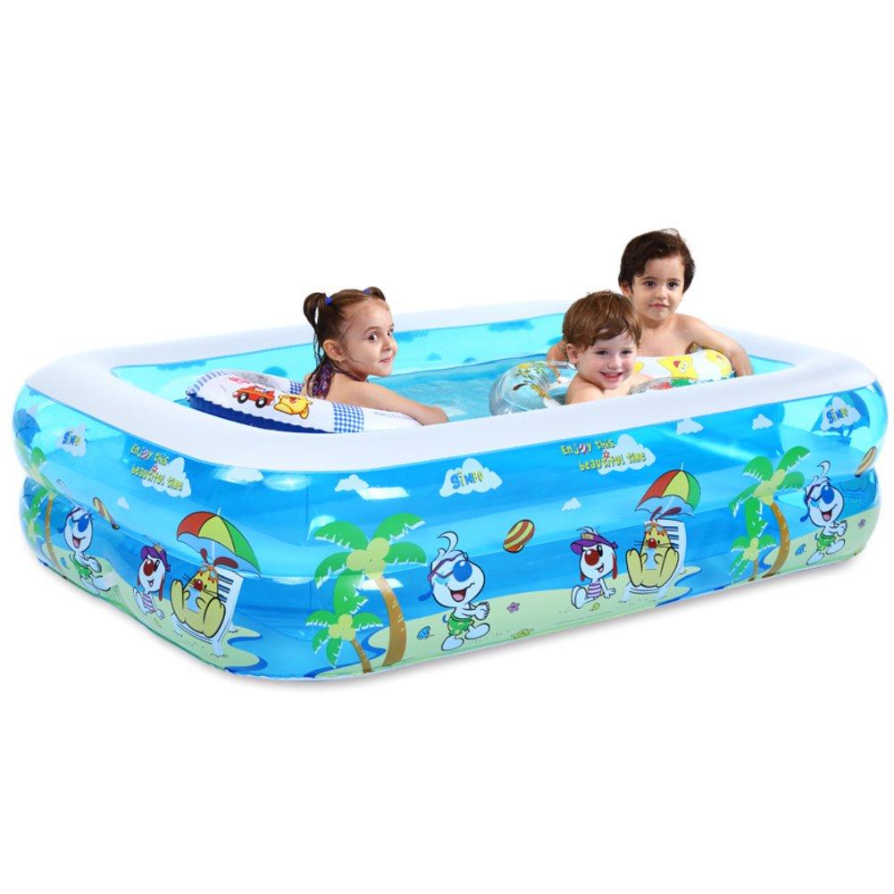 Großen2M aufblasbarer Familie Swimmingpool/Partie Billard/Eltern-marine Ball-Pool/Kinderplanschbecken-A