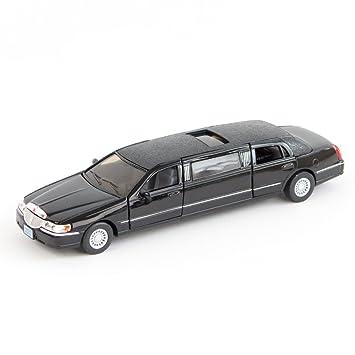 1999 Lincoln Town Car Stretch Limousine 1 38 White Kinsmart