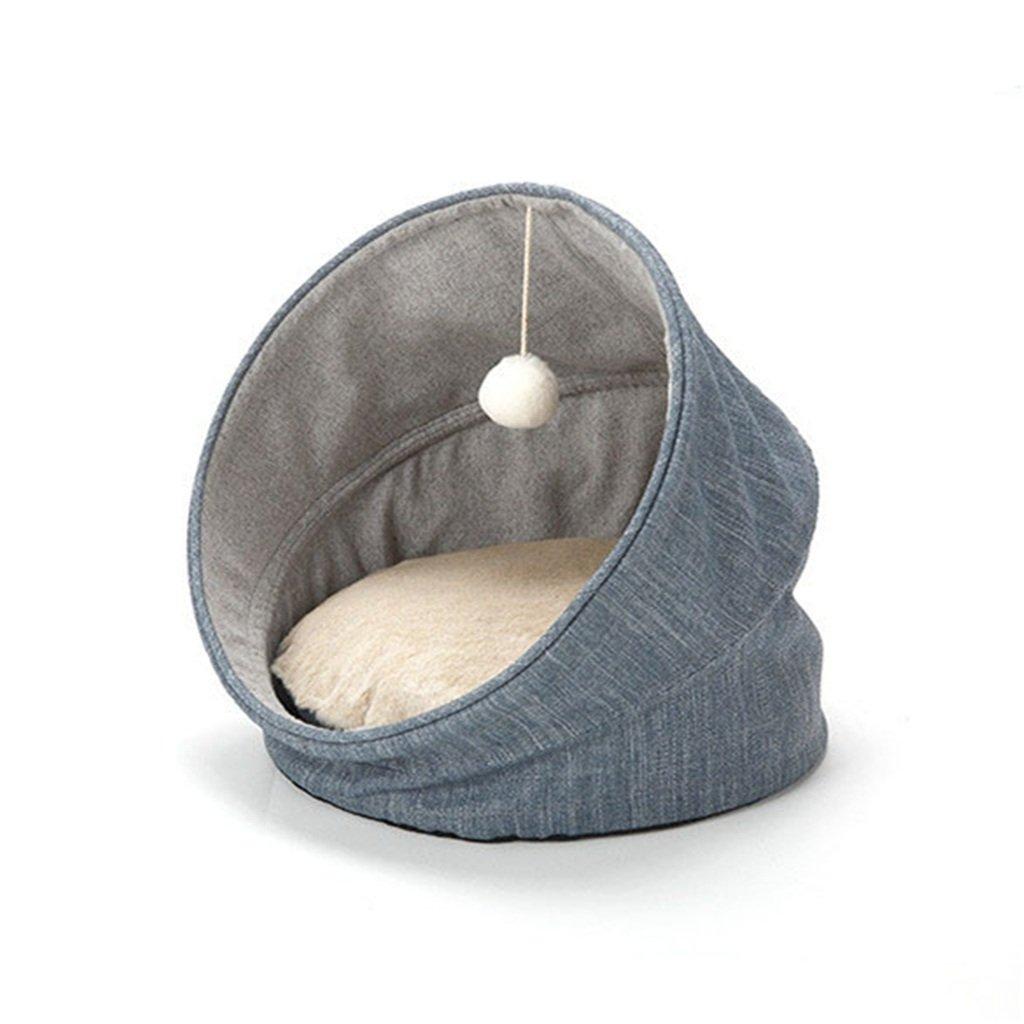 Reducción de precio All Seasons se puede utilizar con un nido doblado de mascota Cat-dog, azul