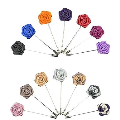 Soleebee YM020 Broches de Solapa, Mixto Aleatorio Flores de ...