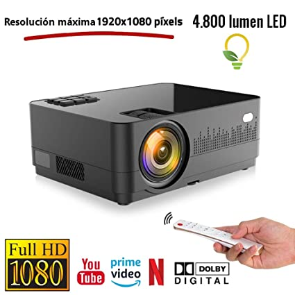 Proyector Full HD 1080P Unicview HD450 Android Bluetooth 4.800 ...