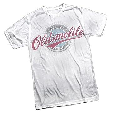 OLDSMOBILE CURSIVE LOGO Licensed Adult T-Shirt All Sizes