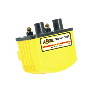 ACCEL ACC 140408 Single Fire Yellow Super Coil: Automotive
