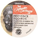 Metropolitan Tea Company Organic Provence Rooibos Tea Capsule, Compatible with Keurig K-Cup Brewers, 24-Count, Packaging May Vary