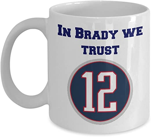 Brady Goat Mug Patriots Coffee Mug