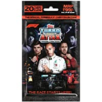 Topps India F1 Turbo Attax Trading Card Game (Multi Pack)