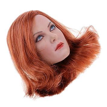 """1//6 Women Figure Head Sculpture for 12/"""" CY CG Hot Toys//Phicen//Kumik Figures"""
