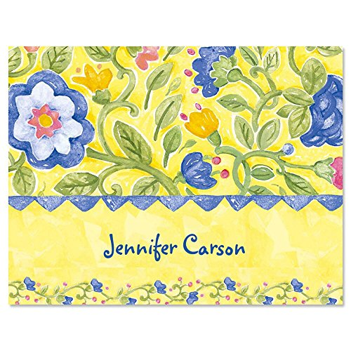 Correspondence Set (Tuscan Sun Personalized Note Cards (Set of 12 Cards with White Envelopes))