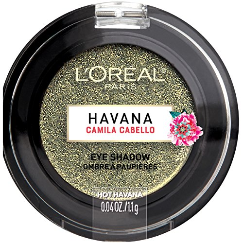 L'Oreal Paris Cosmetics X Camila Cabello Havana Eye Shadow, Hot Havana, 0.04 Ounce]()