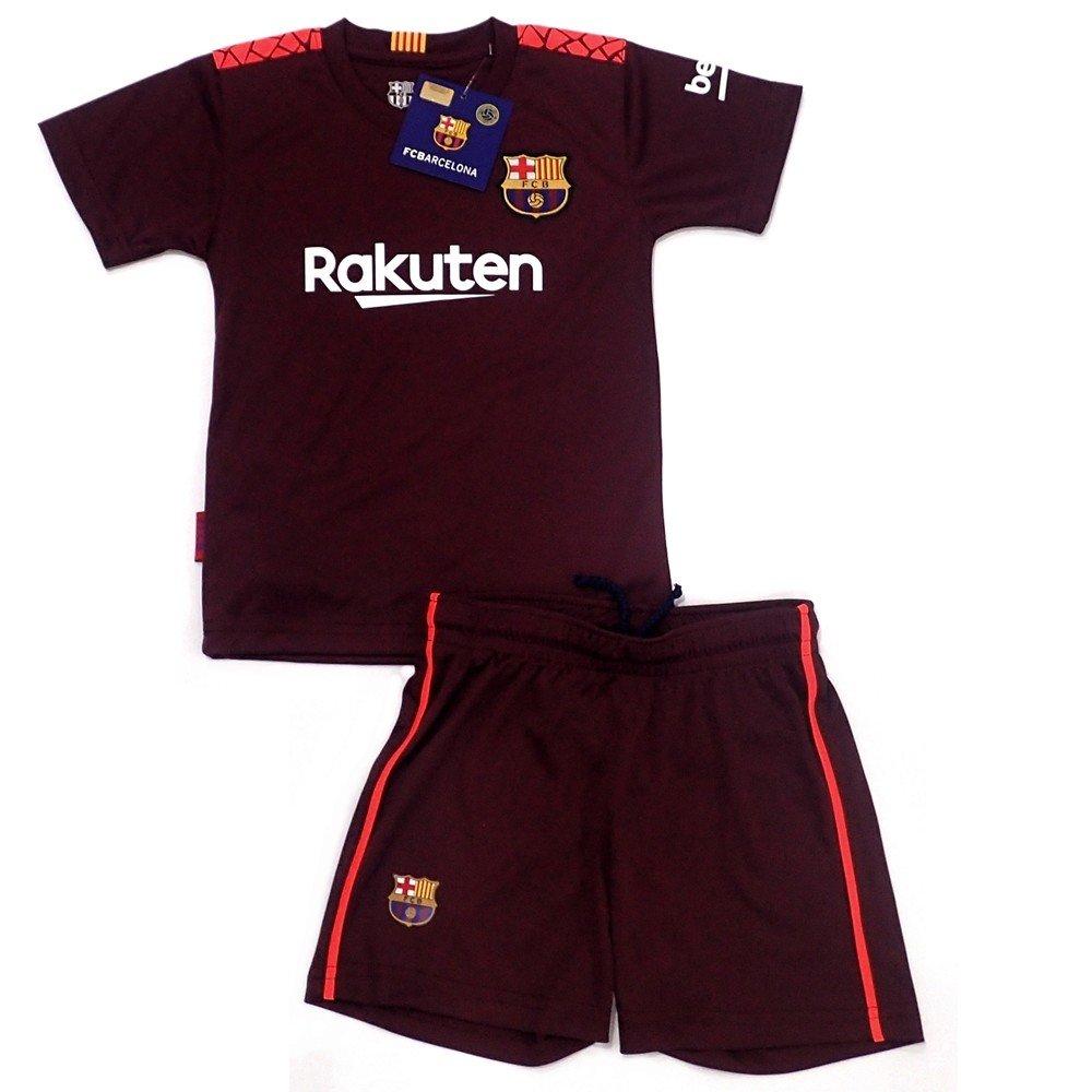 Uniforme F.C. Barcelona Réplica Oficial Junior Tercera Equipación [AB4941]: Amazon.es: Deportes y aire libre